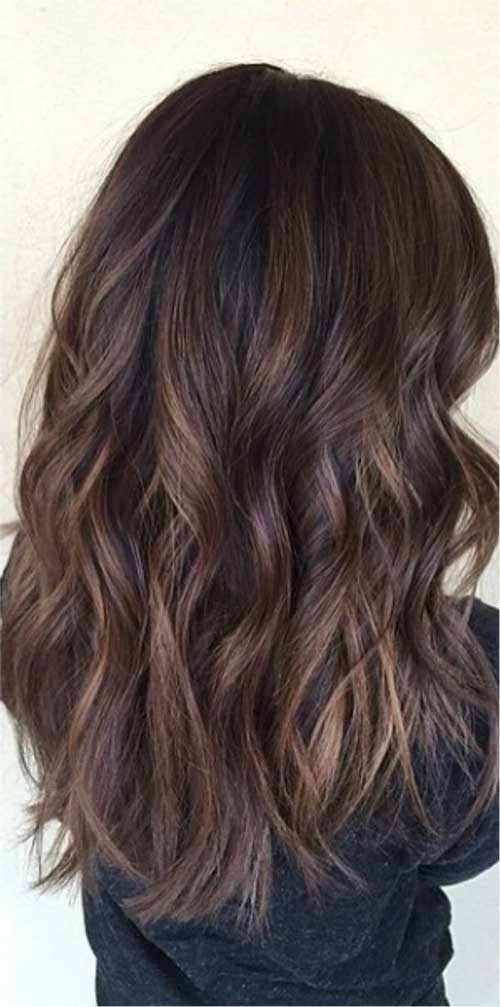 Dark Ash Brown Hair Color Ideas