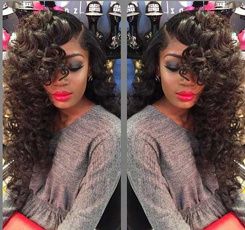Long Curly Weave Hairstyles-13