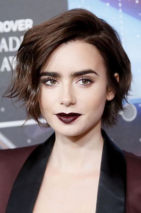 Short hairstyle for the summer