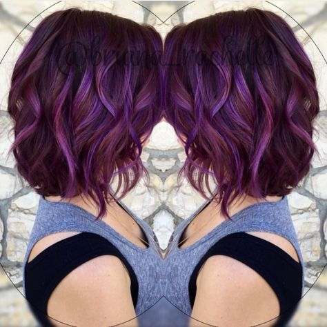 Ombre Hair and Purple Ombre (5)