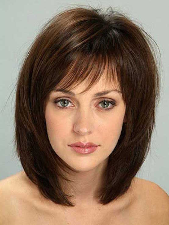 Short bob with pony hairstyles for thick hair