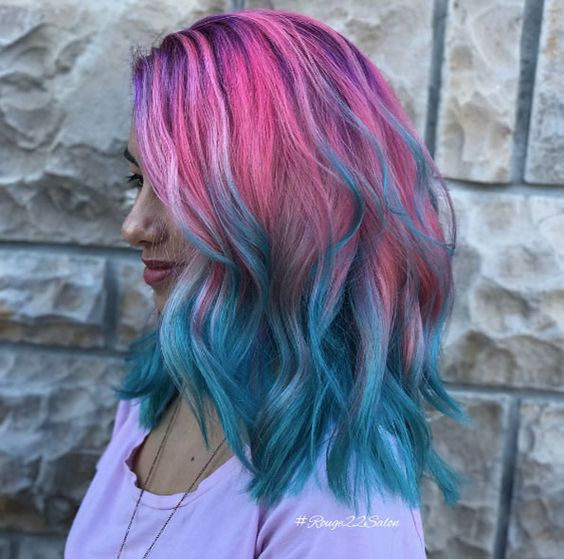 Ombre Hair and Purple Ombre (6)