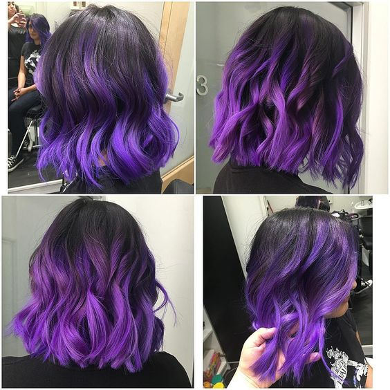 Ombre Hair and Purple Ombre (1)