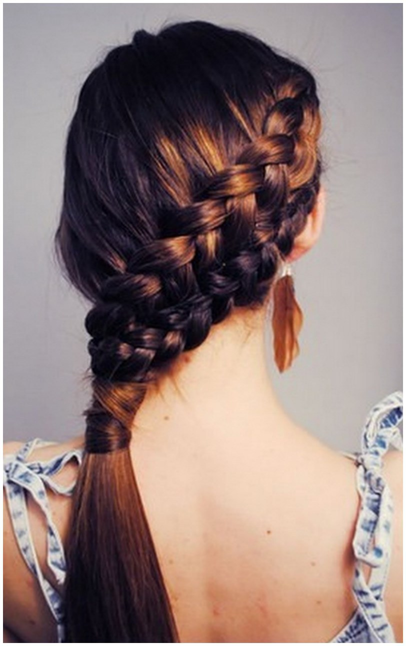 Braided hairstyles for long hair (3)