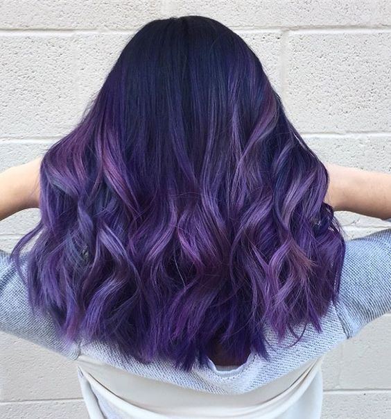 Ombre Hair and Purple Ombre (14)