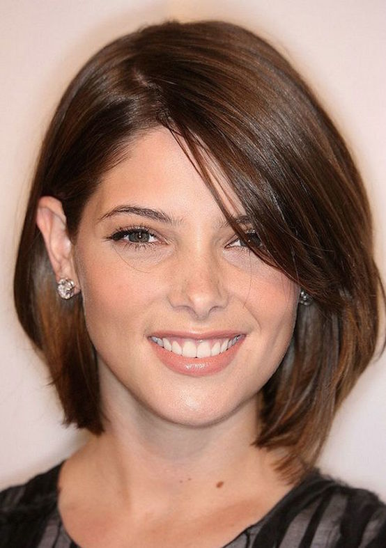 Short haircut for women with thick hair