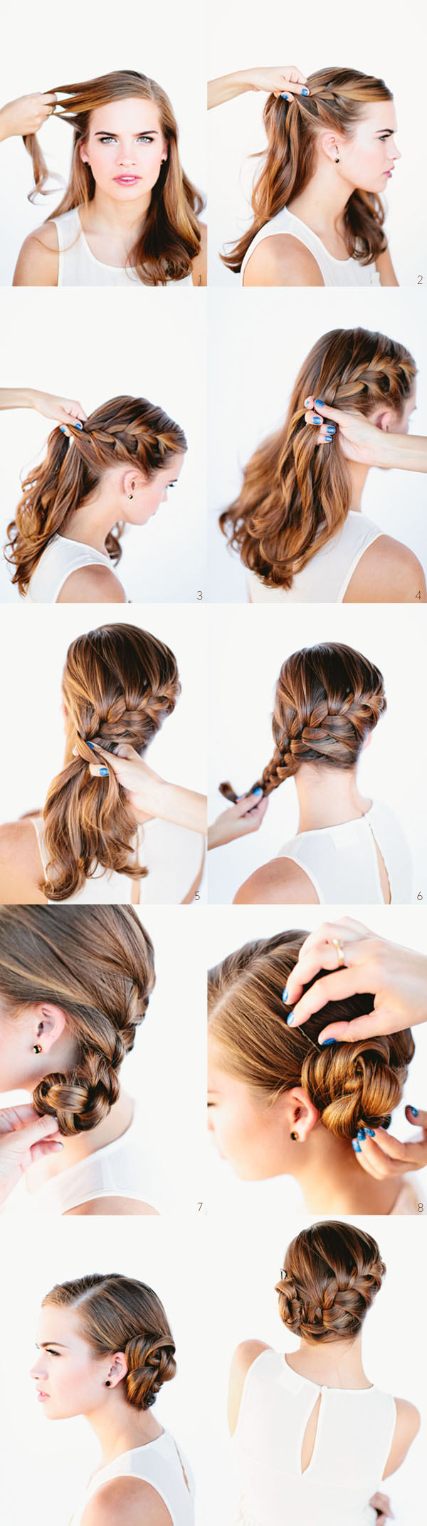 3-Braided-Bun Tutorial (2)