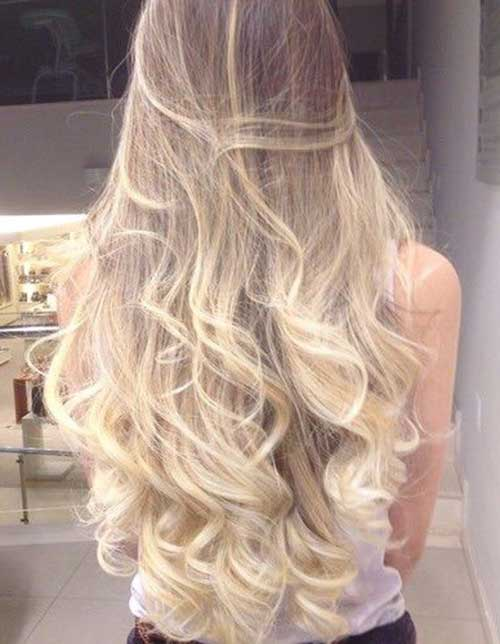 Long blond hairstyles-19