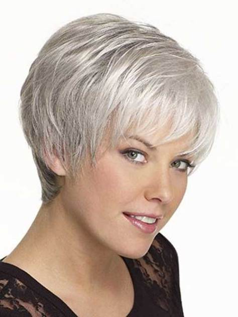 25 Short Hairstyles For Women Over 50 To Look Stylish In 2019
