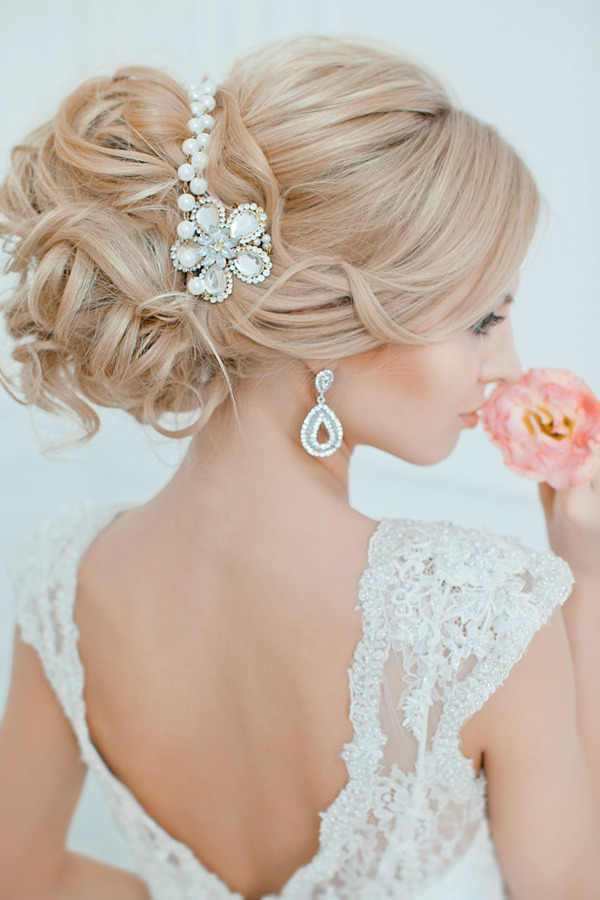 Pearl Wedding Bracelets-by-Updo Wedding Hairstyles