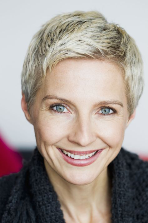 Short hairstyle for older woman