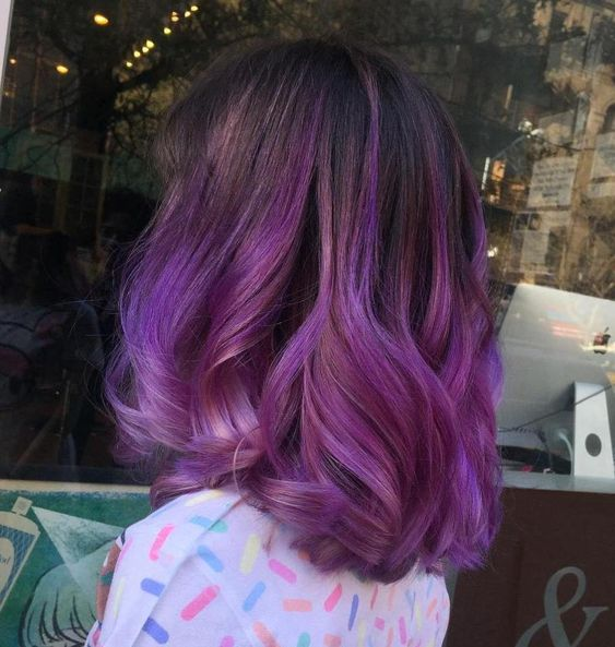 Ombre Hair and Purple Ombre (10)