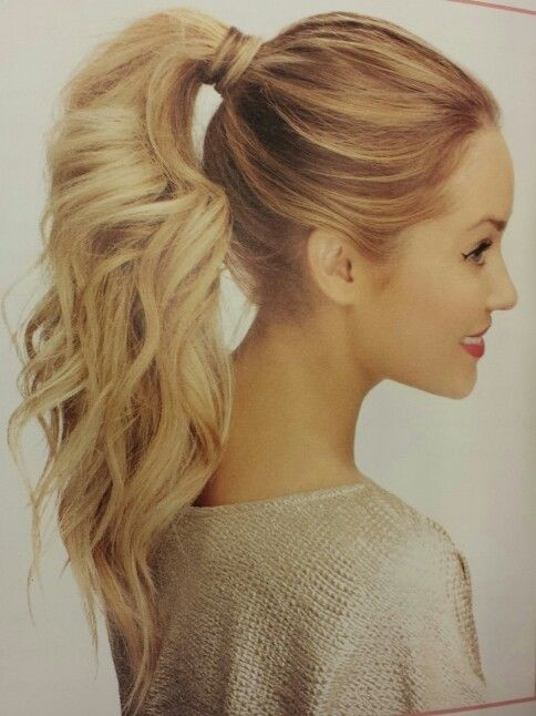 Newest Ponytail Hairstyles for Long Hair (10)