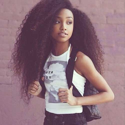 Black Girl Long Hair 25