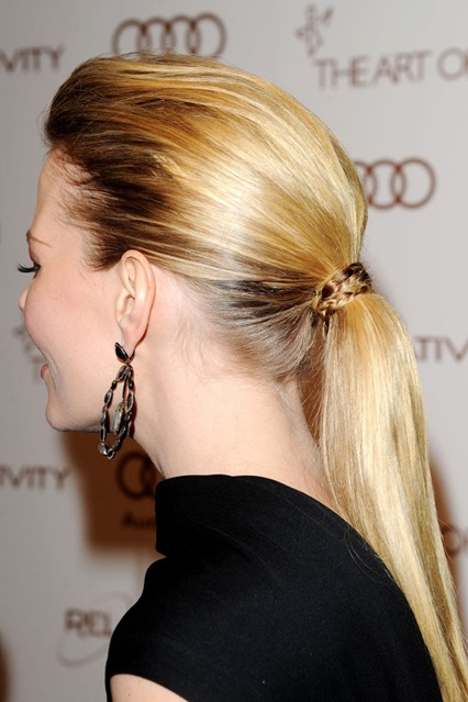 Newest Ponytail Hairstyles for Medium Length Hair (10)