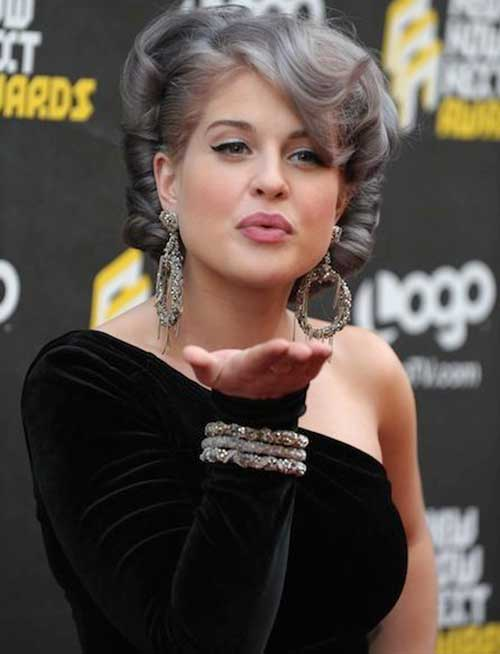 Best gray hairstyles for girls