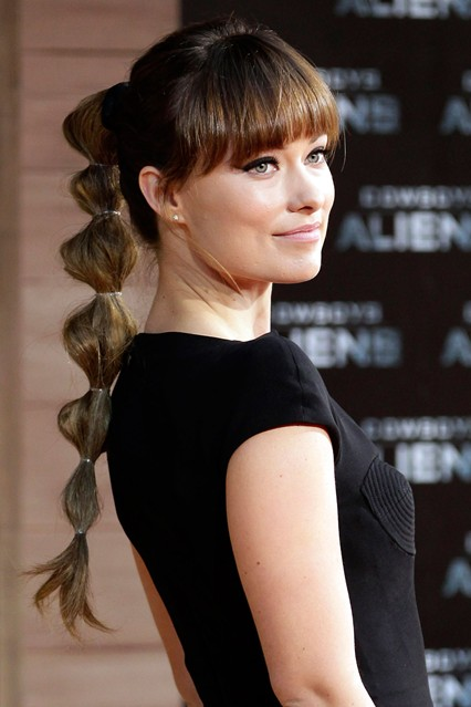 latest ponytail hairstyles for long hair (16)