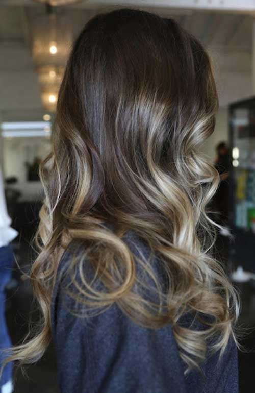Simple ombre hair color ideas 2017
