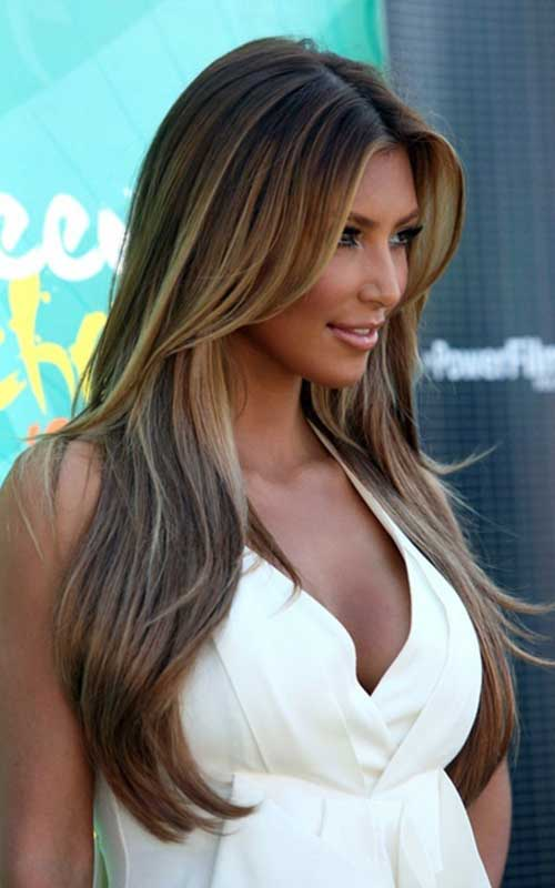 Best long ash brown hair with highlights