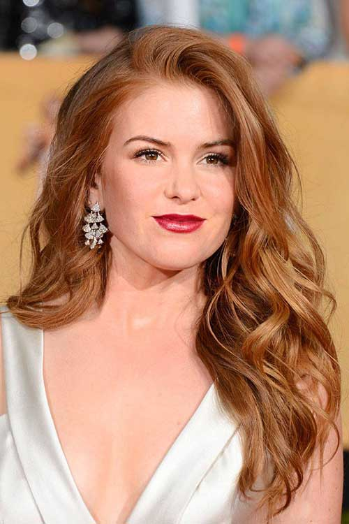 Strawberry Blonde Classic Hairstyle Pics