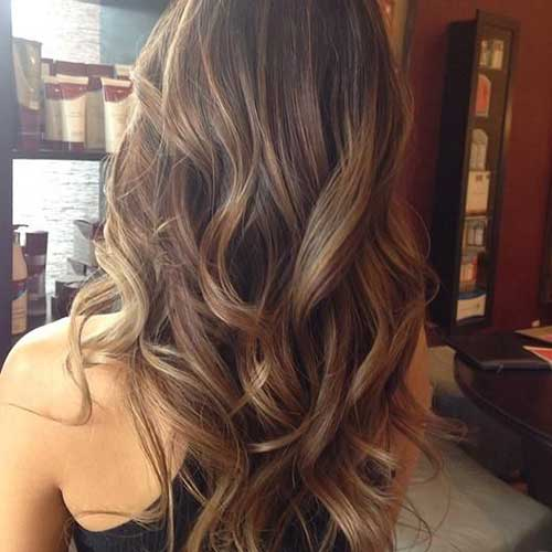 Best Ash Brown Hair with highlight
