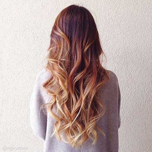 Best Caramel Brown Ombre Hairstyles