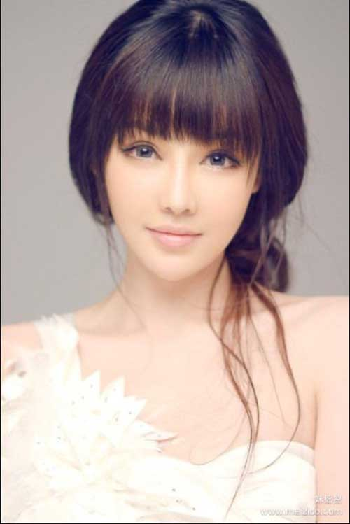 Hairstyle styles with bangs