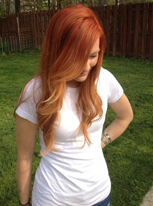 Red Ombre Hair Colors and Styles 2017
