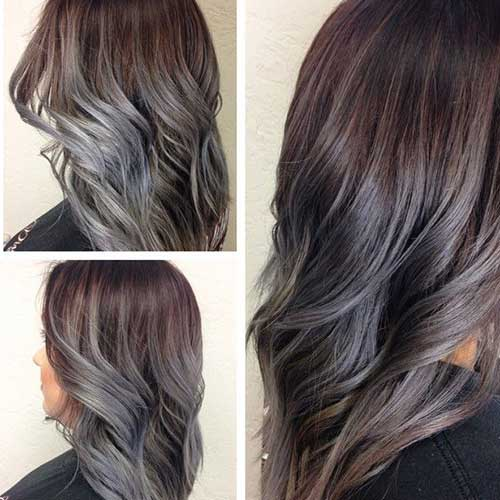 Send gray hairstyles pictures