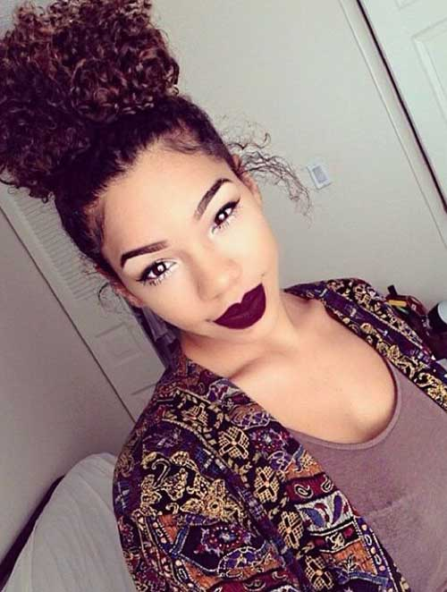 Natural Hairstyles Women-12