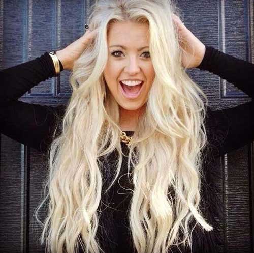 Best hairstyles for blonde long hair