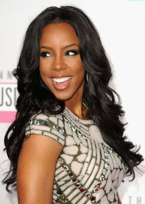 Long Hairstyles for Black Women-16