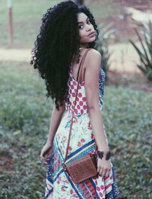 Black Girl Long Hair 10