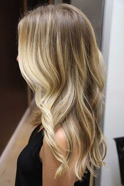 Highlighted Ombre Hair Color Ideas 2017-2016