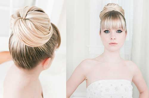 Bun hairstyles with pony-23