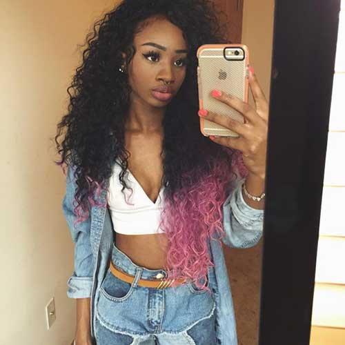 Black Girl Long Hair 24