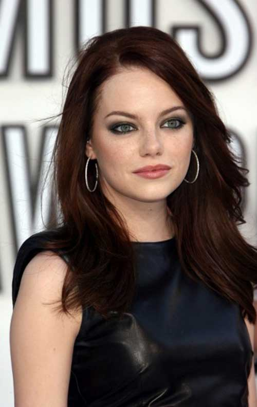 Dark red hair color-13