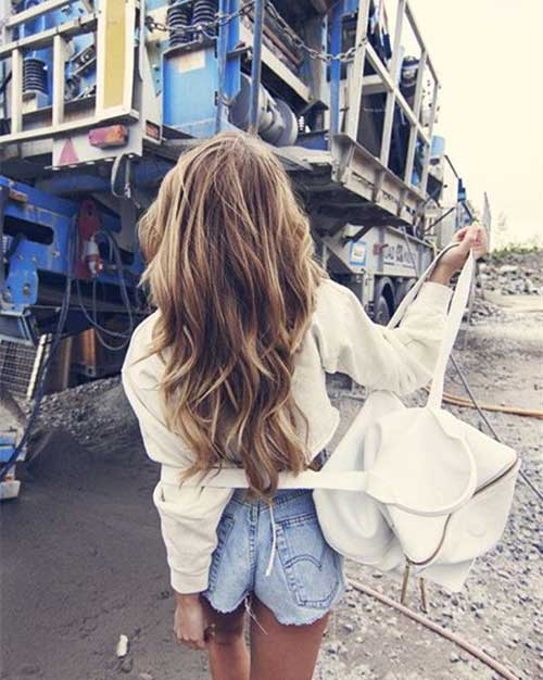 Best brown hair with blond highlights