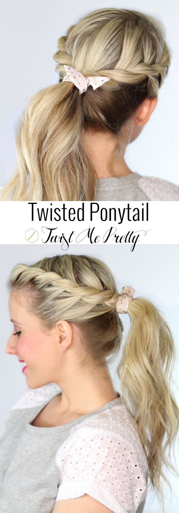 latest ponytail hairstyles for medium-length hair (13)