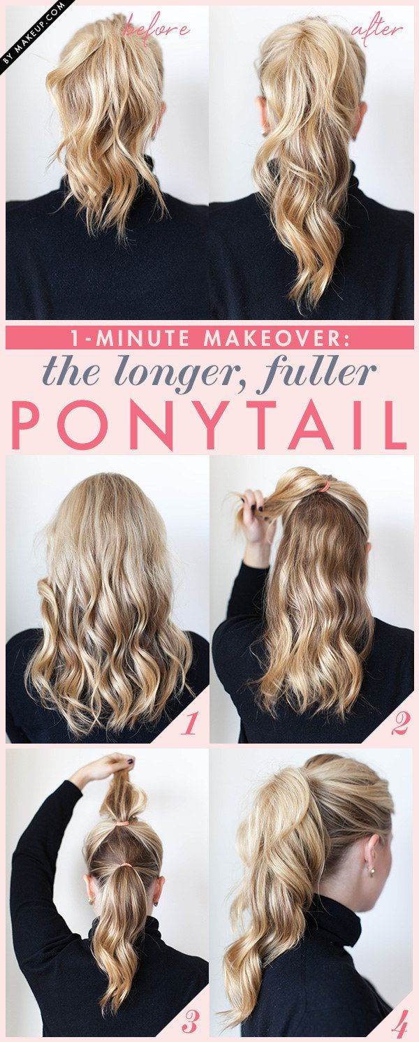 Newest Ponytail Hairstyles for Medium Length Hair (6)