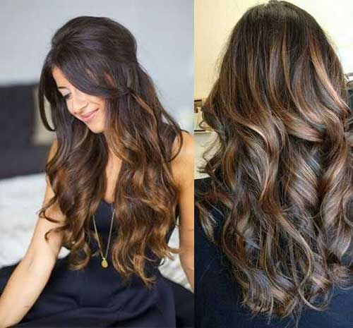 Best Highlighted Brown Ombre hair