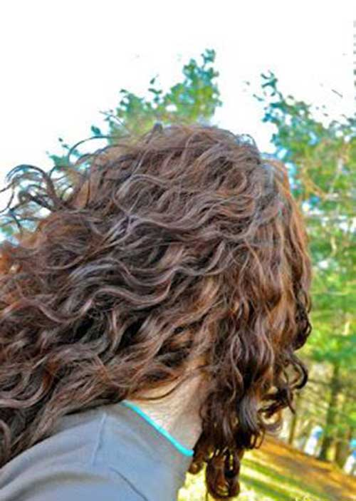Curly Frizzy Haircuts