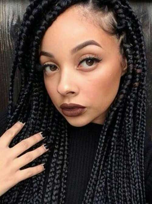 20 Braids Hairstyles For Black Women Hairstyle Woman