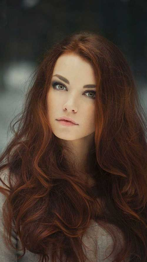 Best reddish brown hair colors