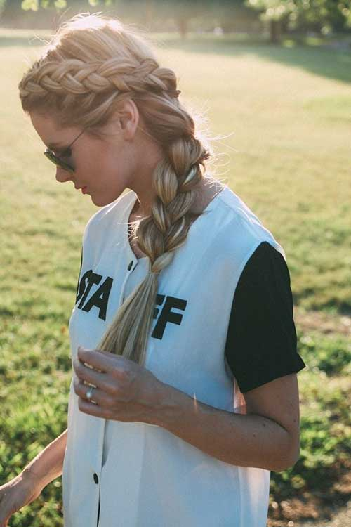 Braided Hairstyles for Ladies-15