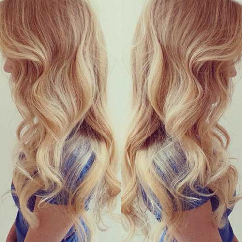Best Loose Curl Haircuts for Blonde Long Hair