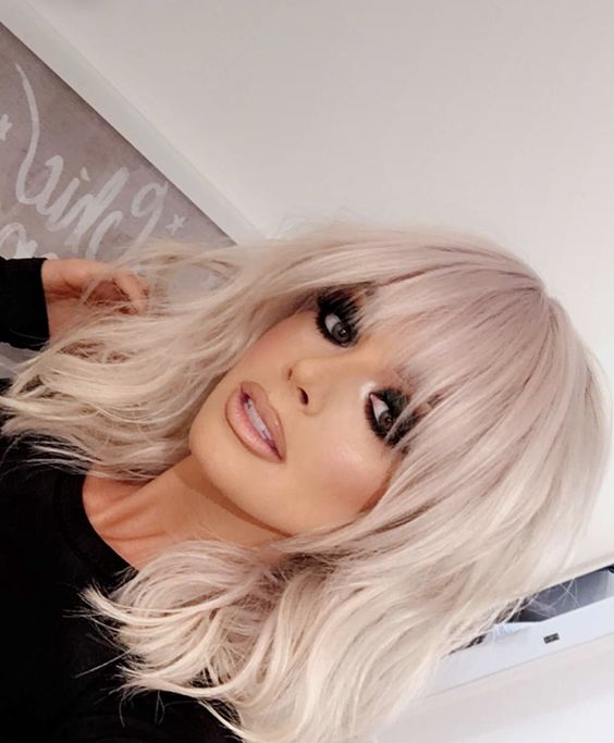 Ladies Hairstyles with Pony 2019 (47) [19659054] Ladies Hairstyles with Pony 2019 (48)