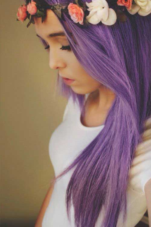 Best Hairstyles for Light Purple Hair