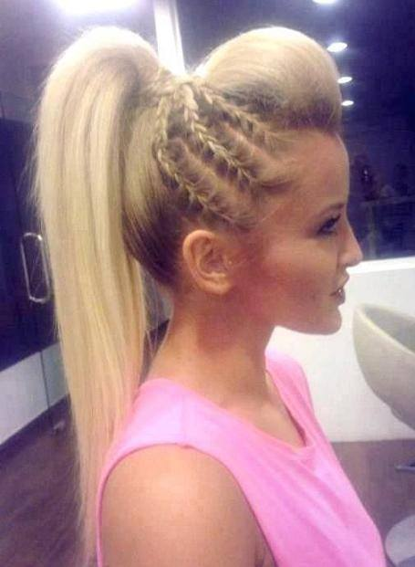 latest ponytail hairstyles for long hair (9)