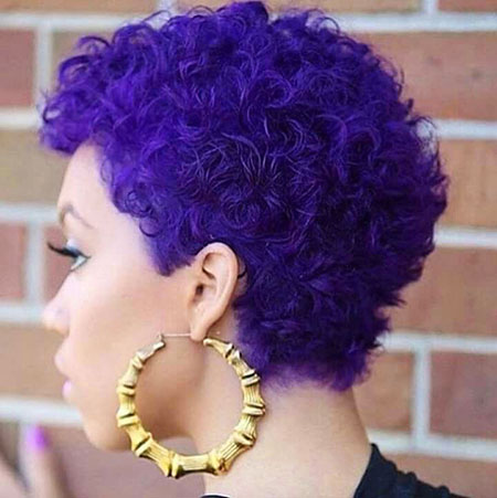 Short Hairstyles for Black Woman - 15